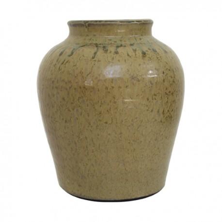 Florero hecho a mano en cerámica