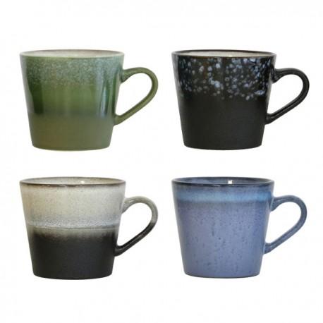 Set de 4 bowls cerámica años 70