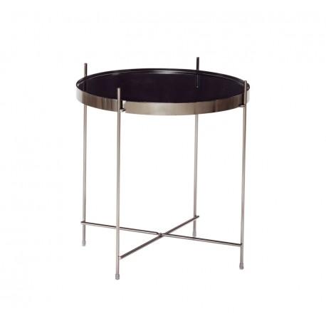 Mesa de centro de metal y espejo