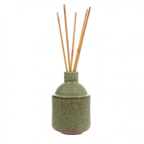 Ambientador frasco cerámico en stick HK.7 FLORES JAPONESAS