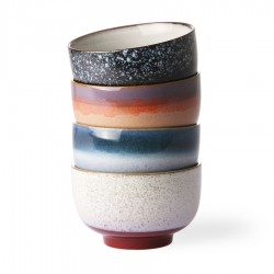 Set 4 Bowls 70´s Ceramic HK Living