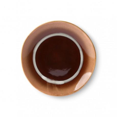 Pack 4 platos de postre Ceramic 70 HK Living