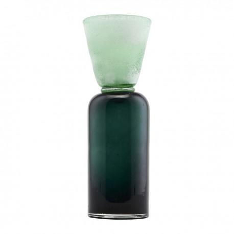 Portavelas Funnel, Azul/Verde, House Doctor