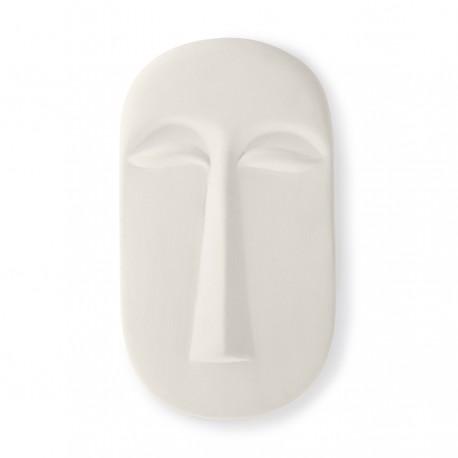 Máscara / Adorno de pared L Blanco mate, HK Living