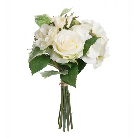 Ramo / Bouquet artificial Blanco 30 cm.