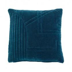 Cojín terciopelo Azul, Hübsch