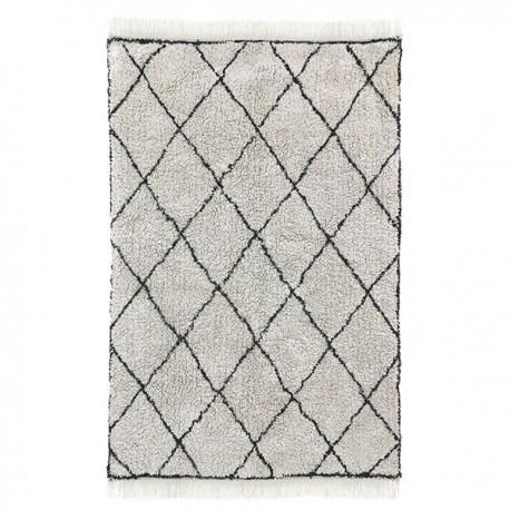 Alfombra de rombos, algodón (120x180) HK Living