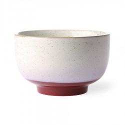 70s ceramics: set 2 noodle bowl, frost, HK Living