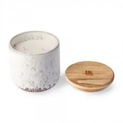 VELA ceramic scented candle: northern soul, HK Living