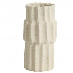 Jarrón NAGO tall vase, S, white, Nordal