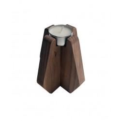 Porta velas NORDIK madera FRESNO/ NOGAL