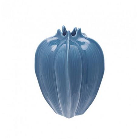 Florero Azul Orgánico