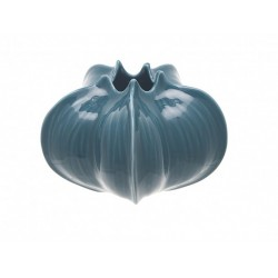 Florero Azul orgánico (pequeño)