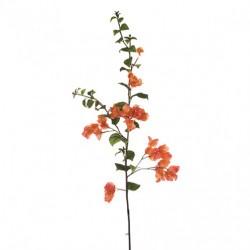 Flor de Bouganvilla Artificial naranja